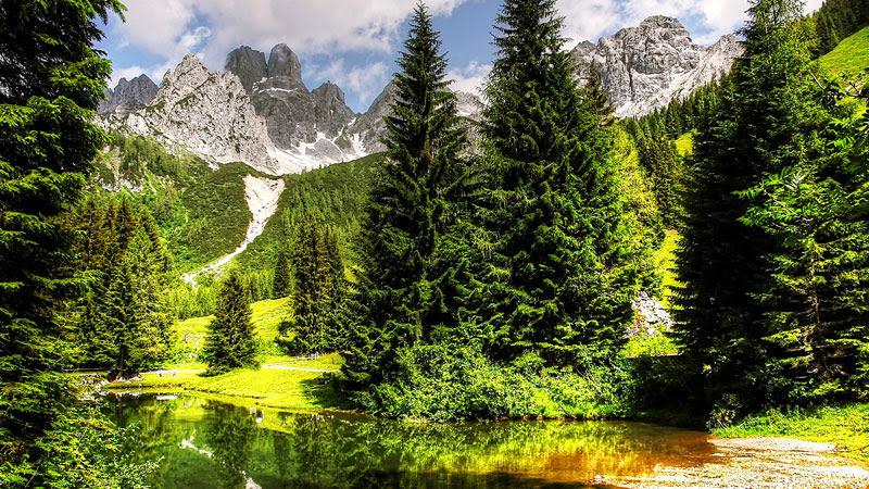 Gebirge in der Steiermark
