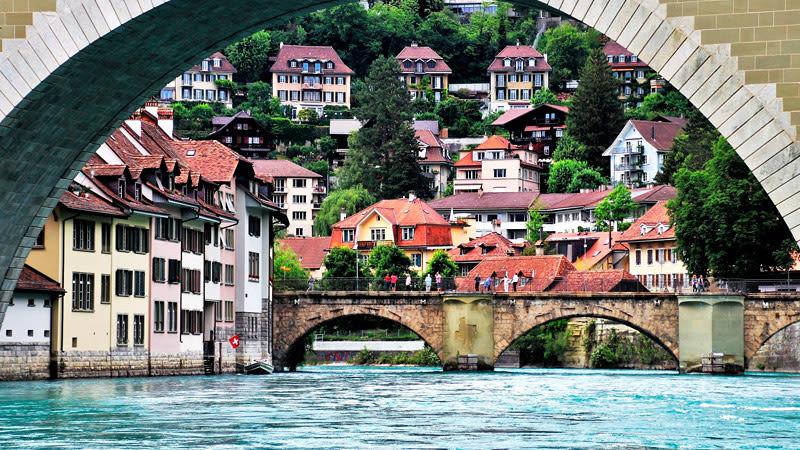 Fluss in Bern