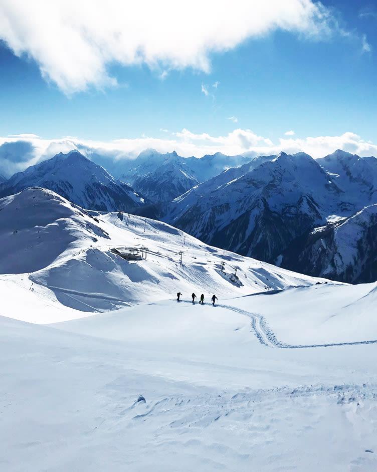 Skitour mit Ausblick