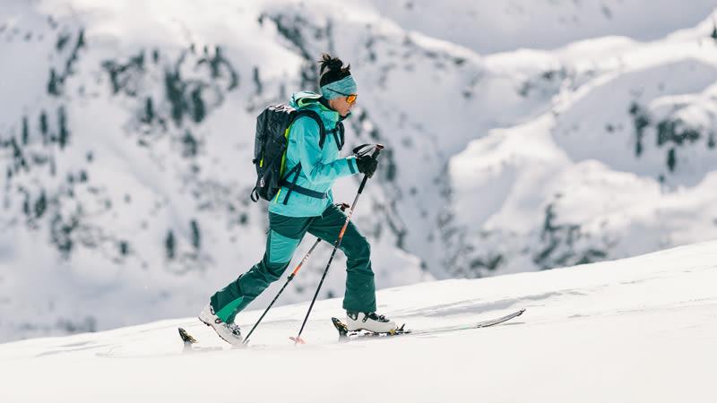 Skitouren Outfit von Schöffel