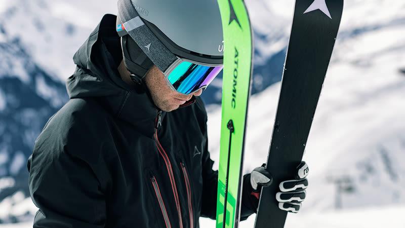Ski zusammenstecken
