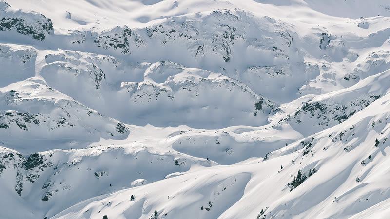 Ausblick in den Bergen