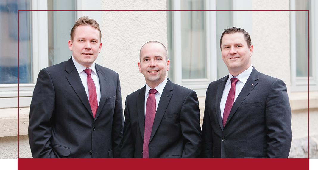 Henrik Digel, Markus Koch und Matthias Schönfuß