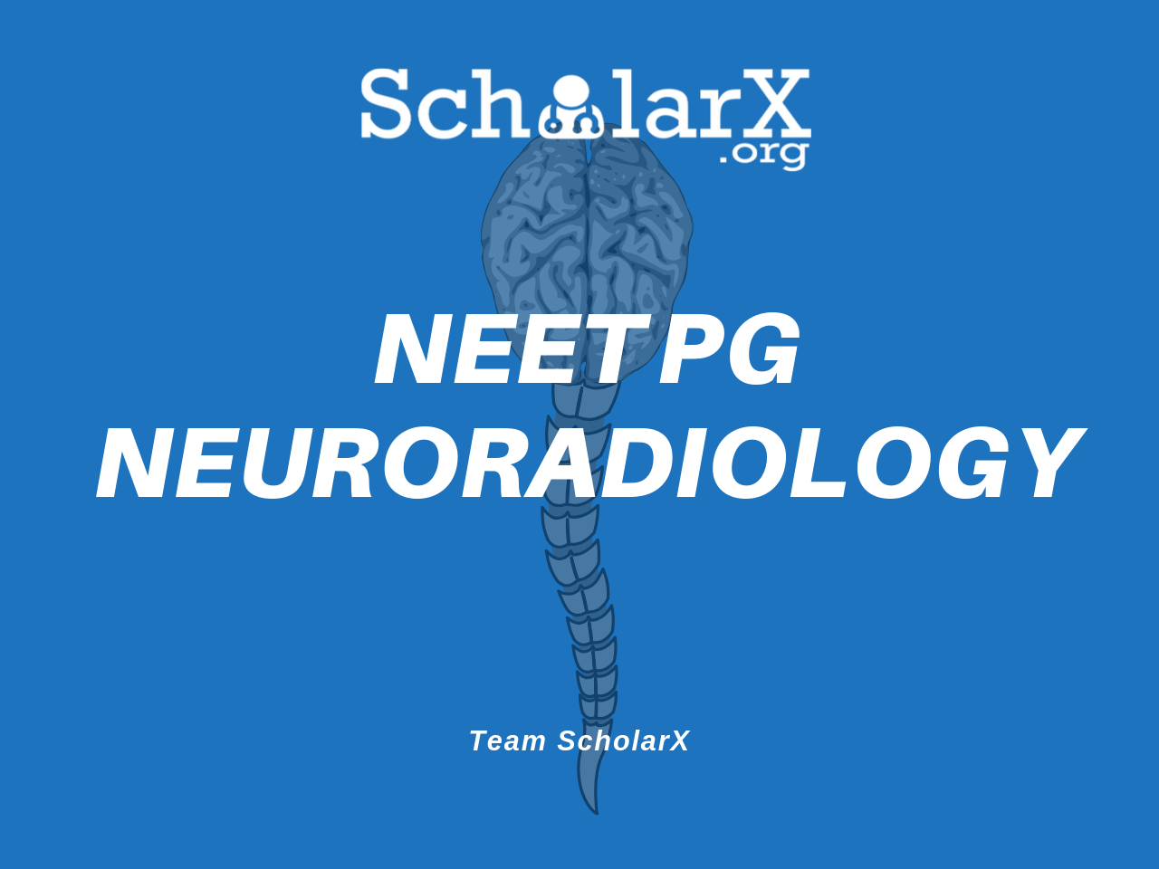 NEET PG Neuroradiology