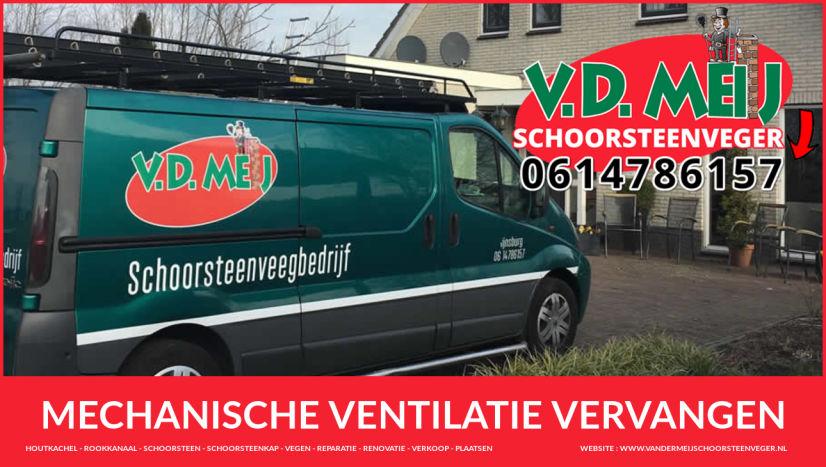 mechanische ventilatie vervangen Zuid-Holland