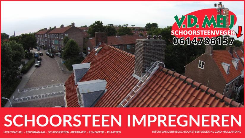 Schoorsteen Impregneren in Zuid-Holland