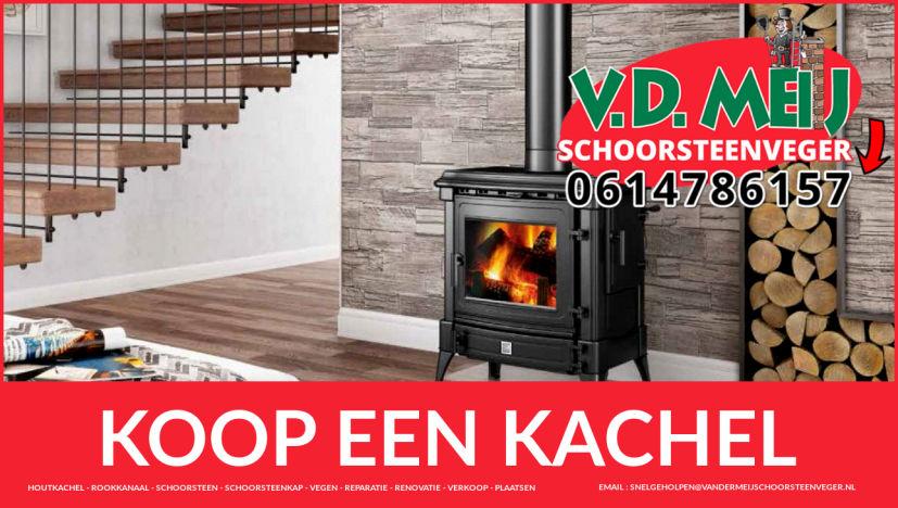 houtkachel aanschaffen in Velsen-Zuid en Driehuis