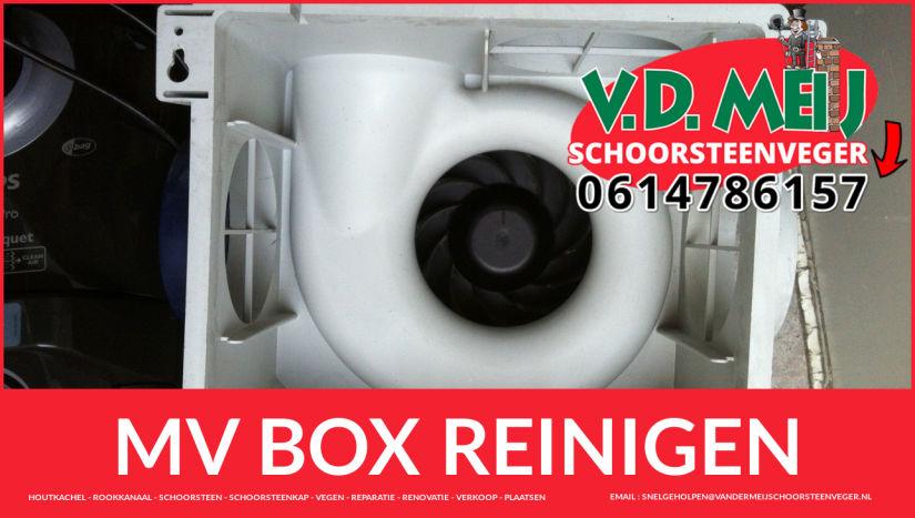 meganische MV box schoonmaken in Hillegom