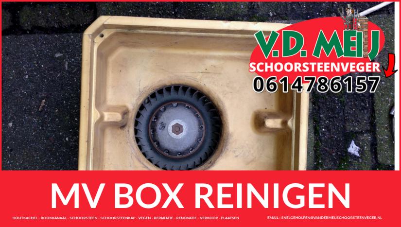 mechanische mv box schoonmaken in Zevenhoven