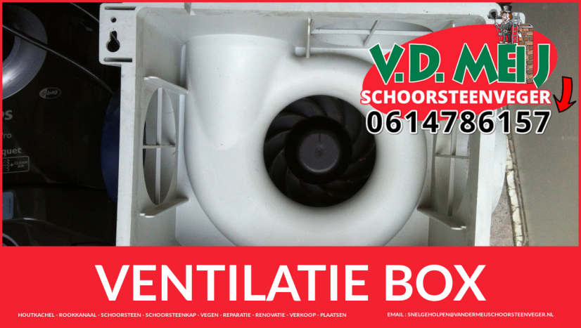 meganische ventilatie schoonmaken in Overveen