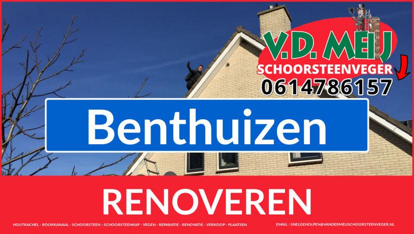 Tot ziens bij Van der Meij schoorsteenrenovatie Benthuizen
