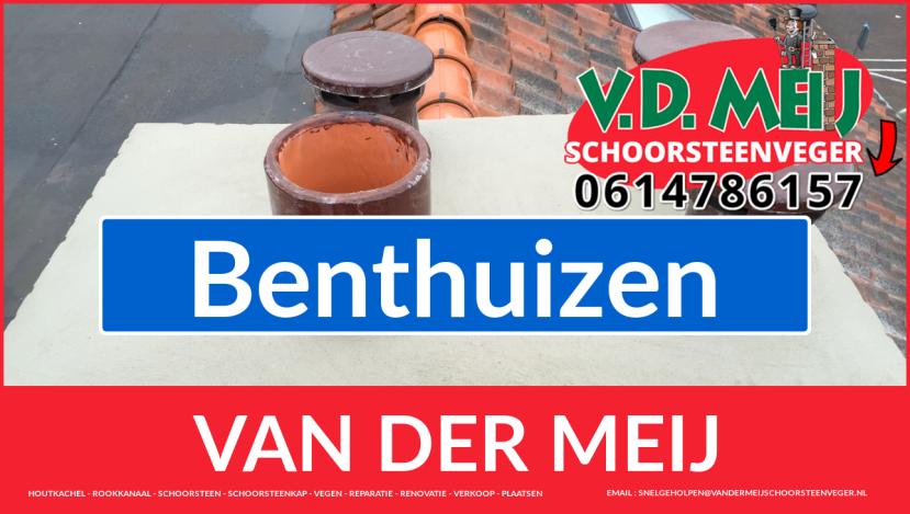 Van der Meij schoorsteen renovatie in Benthuizen