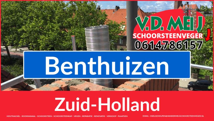 Tot ziens bij Van der Meij schoorsteen restauratie Benthuizen