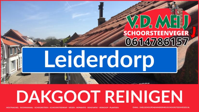 dakgoot reinigen Leiderdorp