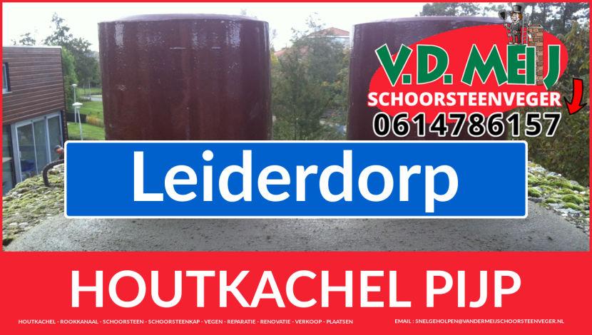 enkel-wandig rookkanaal vervangen in Leiderdorp
