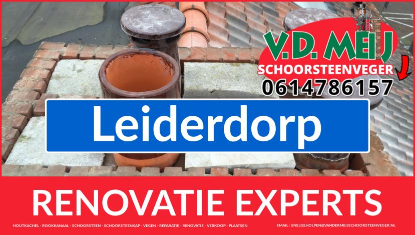 complete schoorsteenrenovatie in Leiderdorp