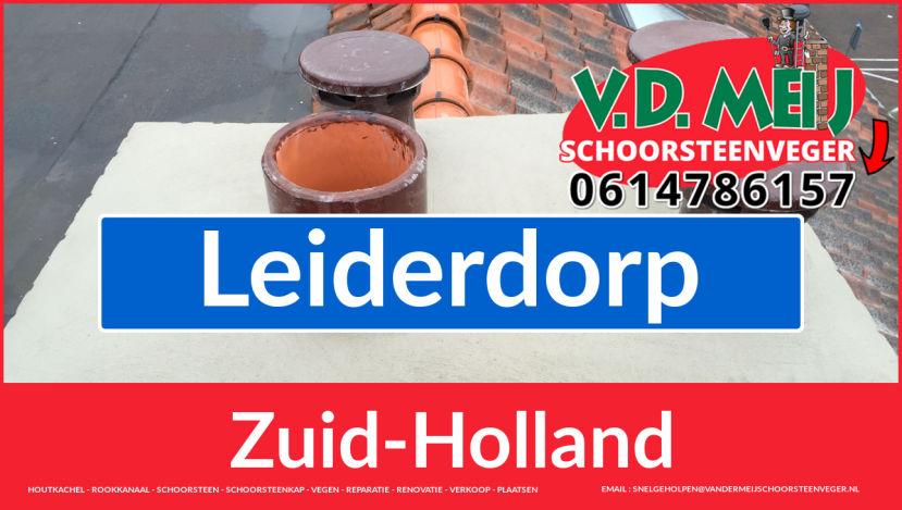 bedankt voor uw bezoek aan Van der Meij schoorsteen restauratie Leiderdorp