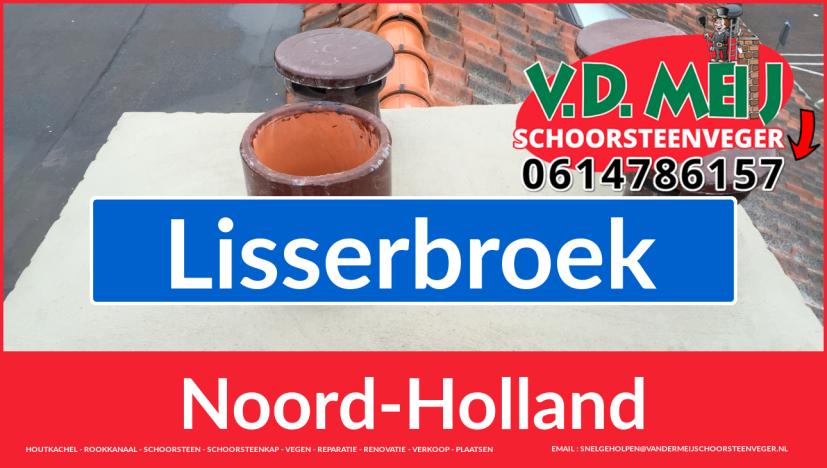 Tot ziens bij Van der Meij schoorsteen restauratie Lisserbroek