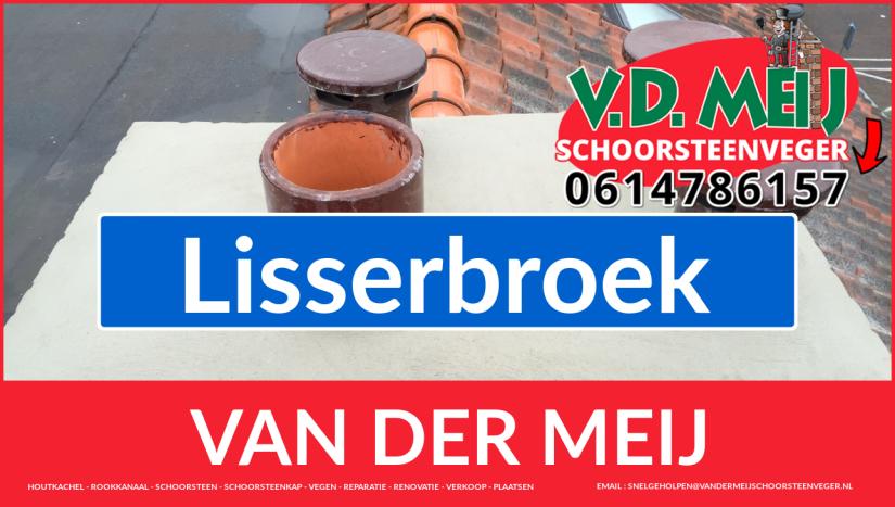 Van der Meij schoorsteen restauratie in Lisserbroek