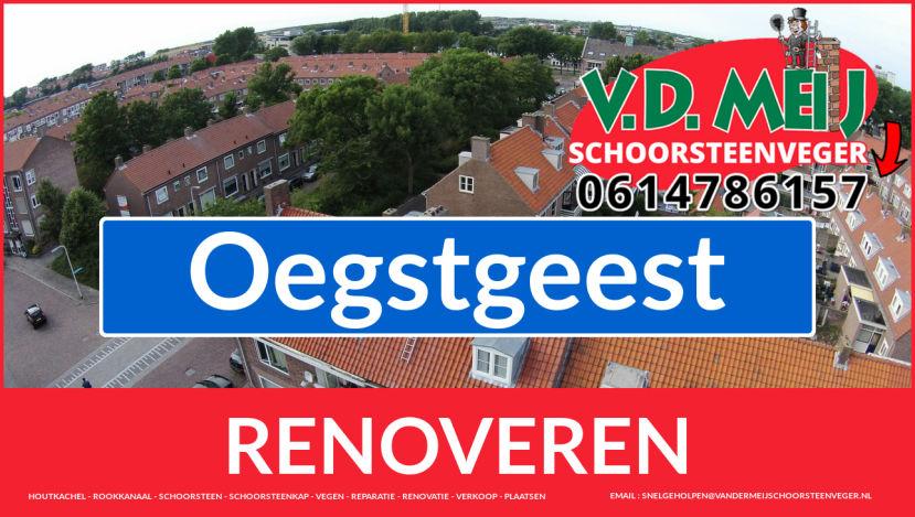 bedankt voor uw bezoek aan Van der Meij schoorsteen renovatie Oegstgeest