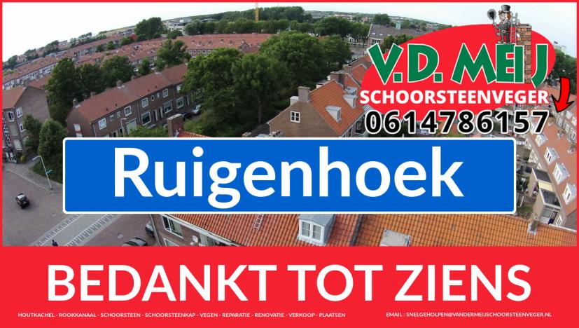 Tot ziens bij Van der Meij {schoorsteenschoorsteen specialist uit Noordwijk-Binnen