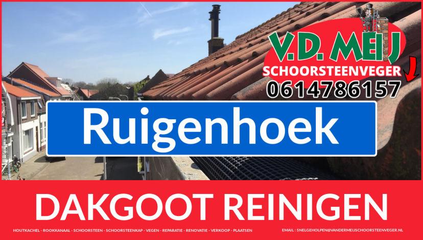 dakgoot schoonmaken Ruigenhoek