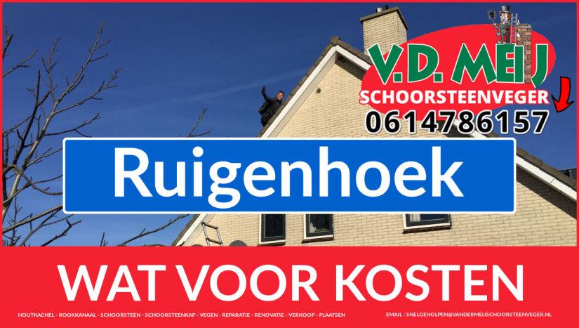 Schoorsteenrenovatie Schoorsteen Ruigenhoek