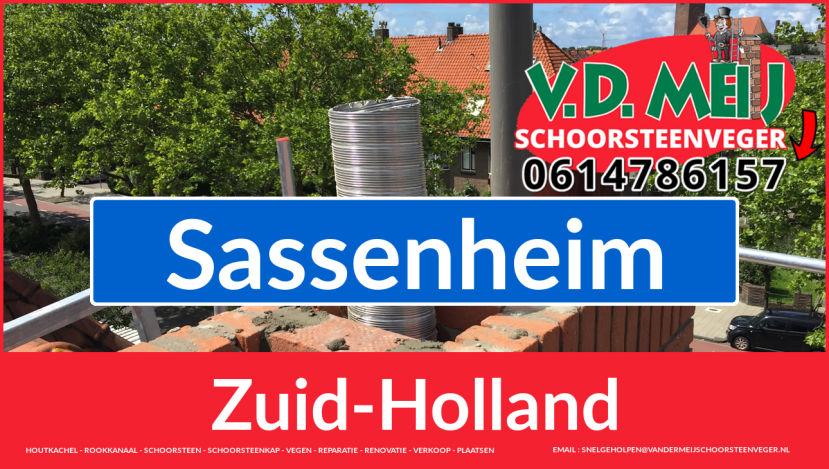 Tot ziens bij Van der Meij schoorsteenrenovatie Sassenheim