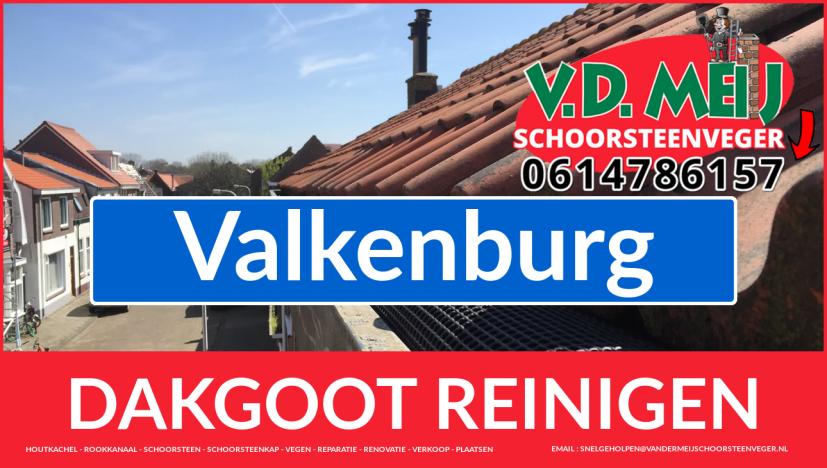 dakgoot schoonmaken Valkenburg