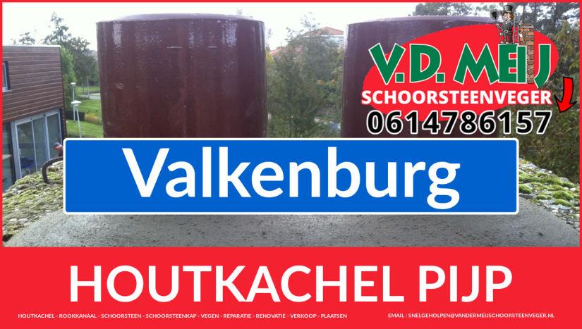 enkel-wandig rook-kanaal plaatsen in Valkenburg