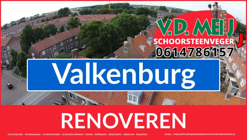 Tot ziens bij Van der Meij schoorsteen renovatie Valkenburg