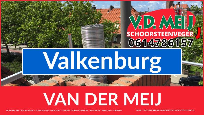 Van der Meij schoorsteen restauratie in Valkenburg
