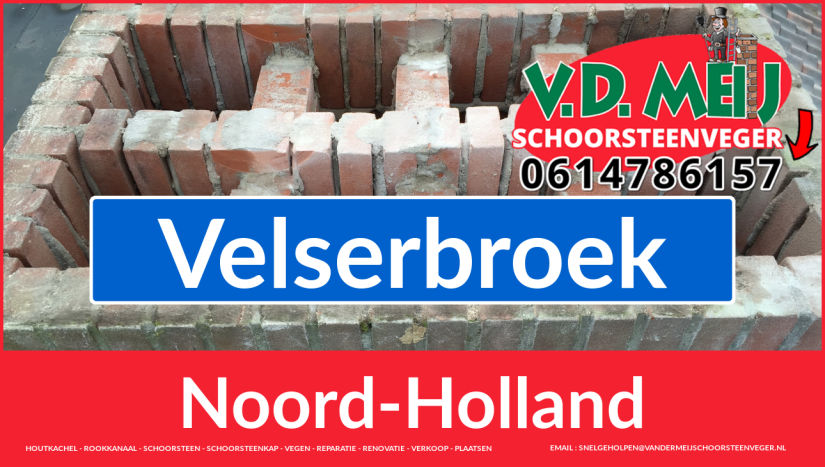 Tot ziens bij Van der Meij schoorsteen renovatie Velserbroek