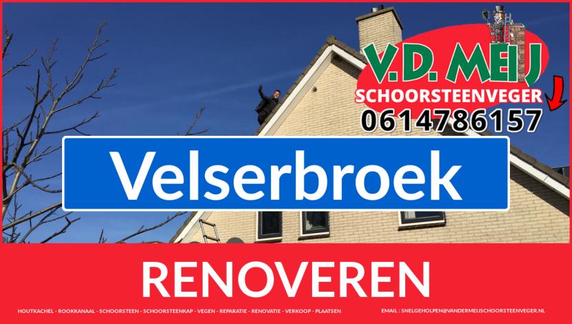 bedankt voor uw bezoek aan Van der Meij schoorsteen renovatie Velserbroek