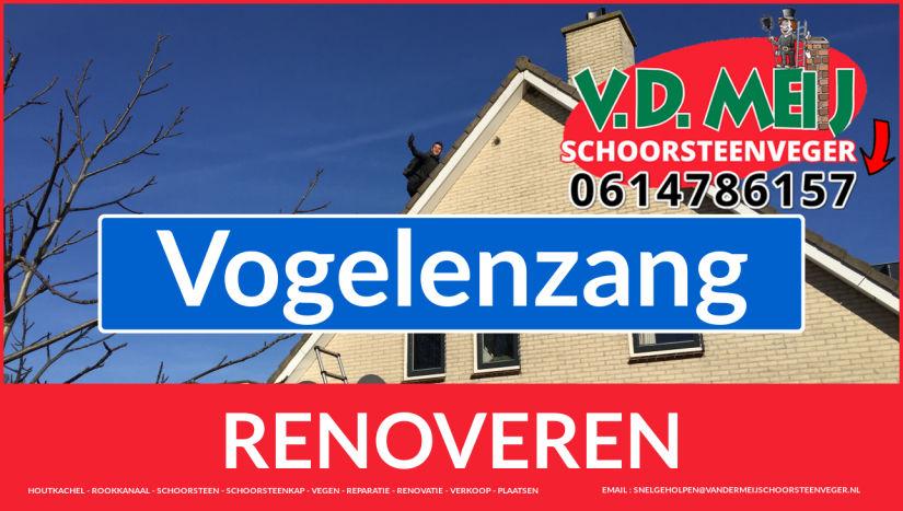 bedankt voor uw bezoek aan Van der Meij schoorsteenrenovatie Vogelenzang