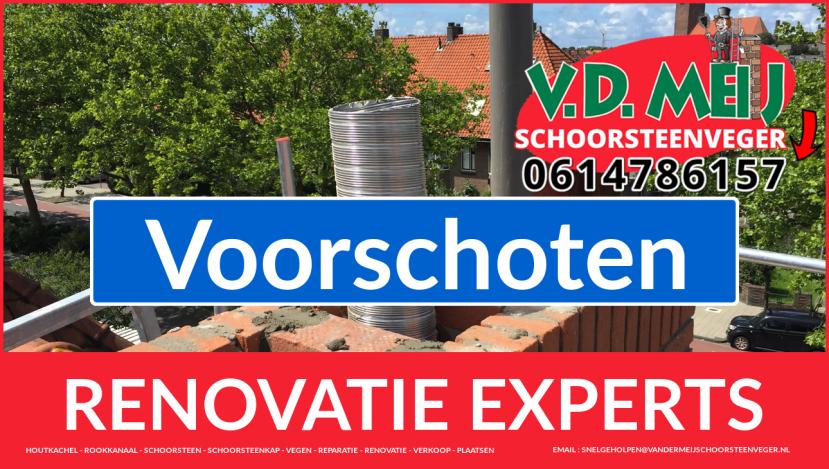 algehele schoorsteen renovatie in Voorschoten