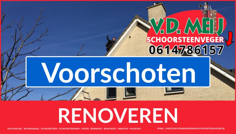 bedankt voor uw bezoek aan Van der Meij schoorsteen restauratie Voorschoten