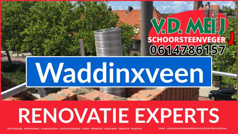 totale schoorsteen restauratie in Waddinxveen