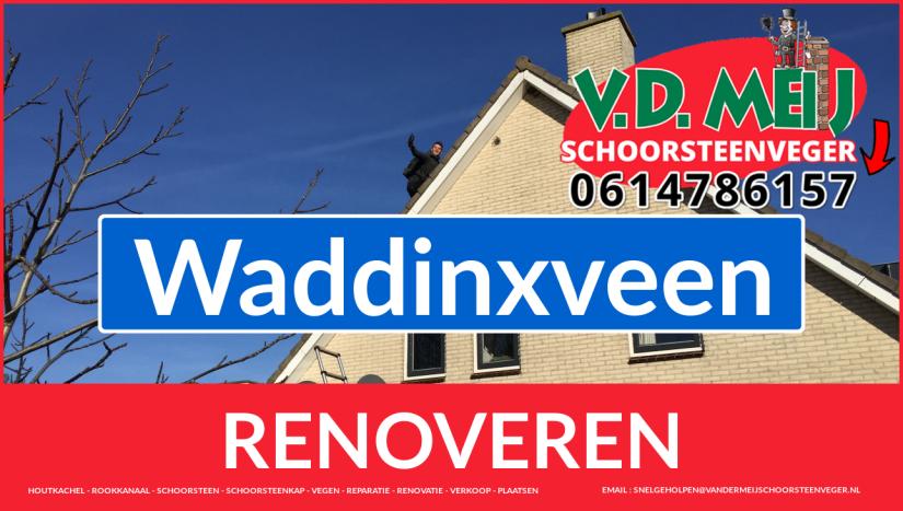 bedankt voor uw bezoek aan Van der Meij schoorsteen renovatie Waddinxveen