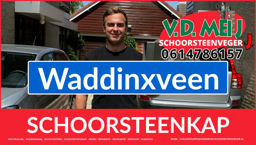 schoorsteenkap vervangen in Waddinxveen