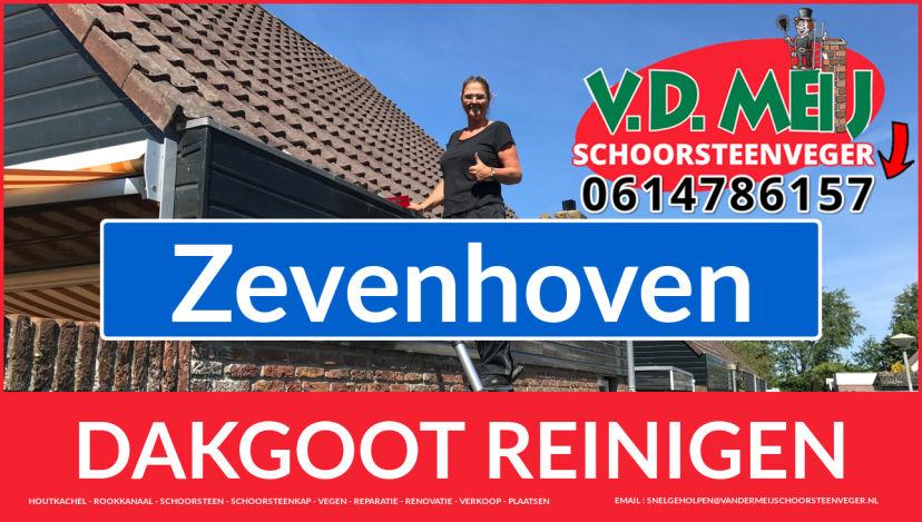 dakgoot vegen Zevenhoven