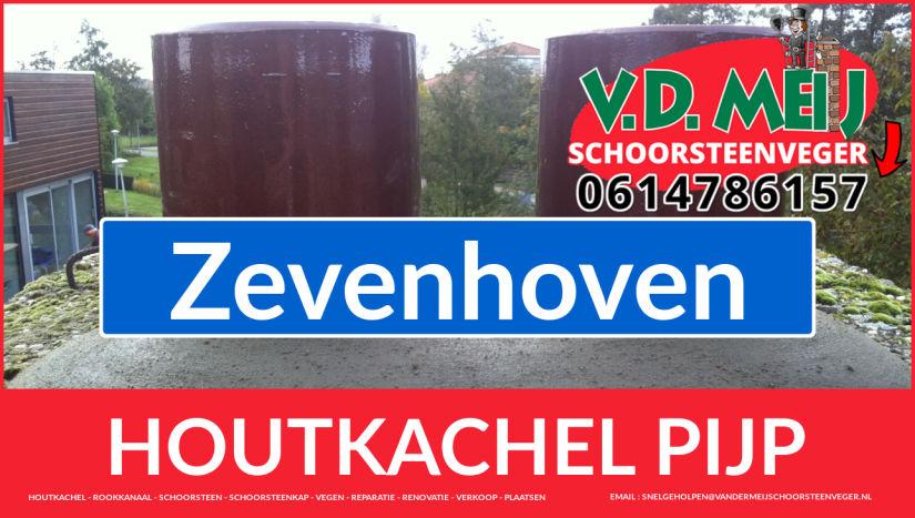 enkelwandig rookkanaal aanleggen in Zevenhoven