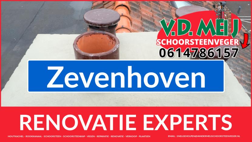 volledige schoorsteen renovatie in Zevenhoven