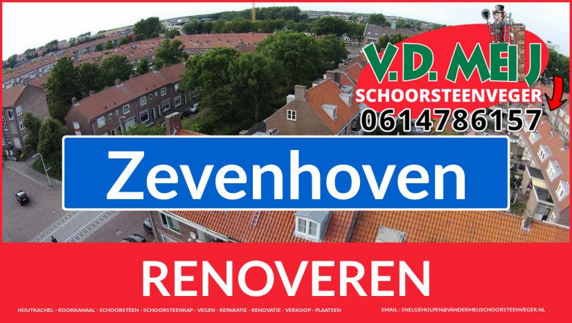 Tot ziens bij Van der Meij schoorsteen restauratie Zevenhoven