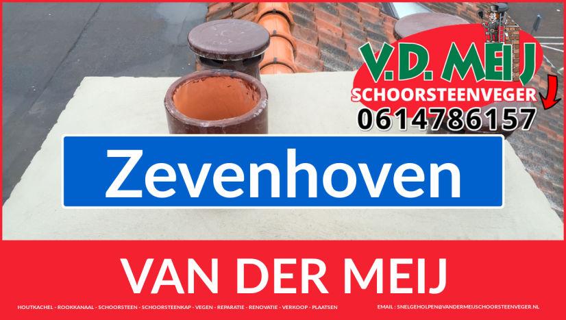 Van der Meij schoorsteenrenovatie in Zevenhoven