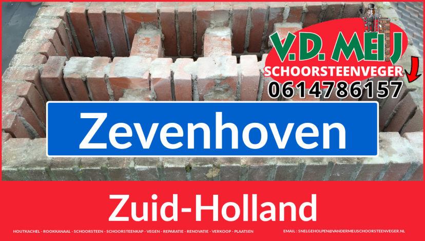 Tot ziens bij Van der Meij schoorsteen renovatie Zevenhoven