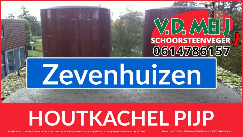 enkel-wandig rook-kanaal aanleggen in Zevenhuizen