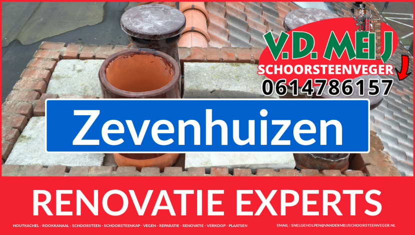 gehele schoorsteenrenovatie in Zevenhuizen