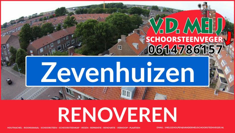 Tot ziens bij Van der Meij schoorsteenrenovatie Zevenhuizen