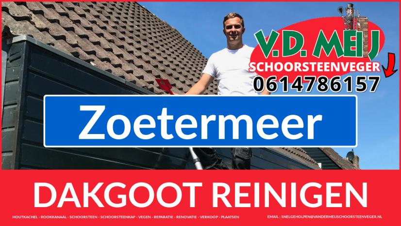dakgoot reinigen Zoetermeer